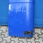 zu verkaufen gebrauchte Ersatzteile für MAN F08 - linkes Bugblech aus Metall
