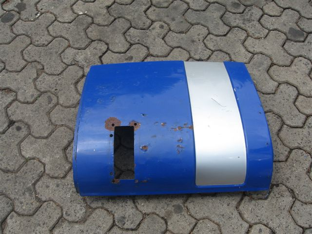 zu verkaufen gebrauchtes kurzes Bugblech für MAN F08 aus Metall