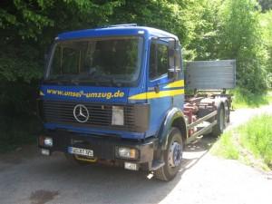 zu verkaufen Sk 2429 Wechselbrücken Fahrzeug